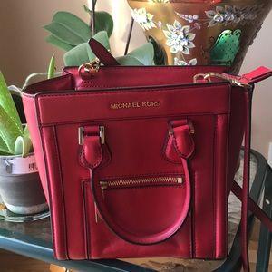 Bright Red Michael Kors Crossbody bag